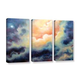 ArtWall 'Marina Petro's Marina' 3-piece Gallery Wrapped Canvas Set