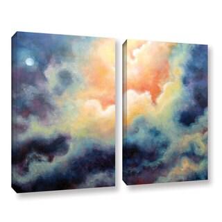 ArtWall 'Marina Petro's Marina' 2-piece Gallery Wrapped Canvas Set