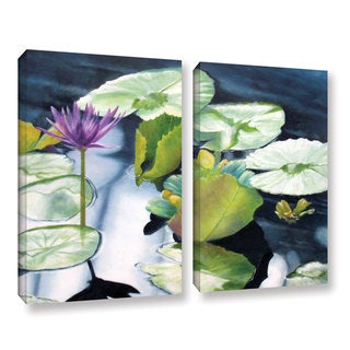 ArtWall 'Marina Petro's From Deep' 2-piece Gallery Wrapped Canvas Set