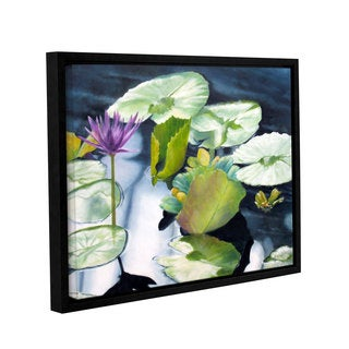 ArtWall 'Marina Petro's From Deep' Gallery Wrapped Floater-framed Canvas
