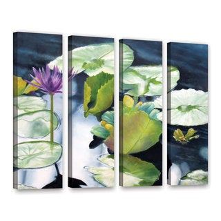ArtWall 'Marina Petro's From Deep' 4-piece Gallery Wrapped Canvas Set