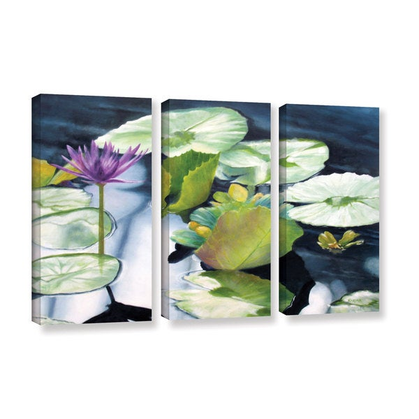 ArtWall 'Marina Petro's From Deep' 3-piece Gallery Wrapped Canvas Set
