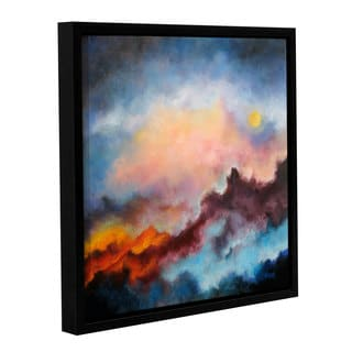 ArtWall 'Marina Petro's Fire on the Mountain' Gallery Wrapped Floater-framed Canvas