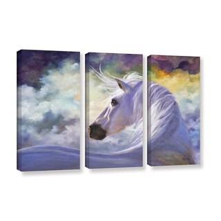 ArtWall 'Marina Petro's Spirit' 3-piece Gallery Wrapped Canvas Set
