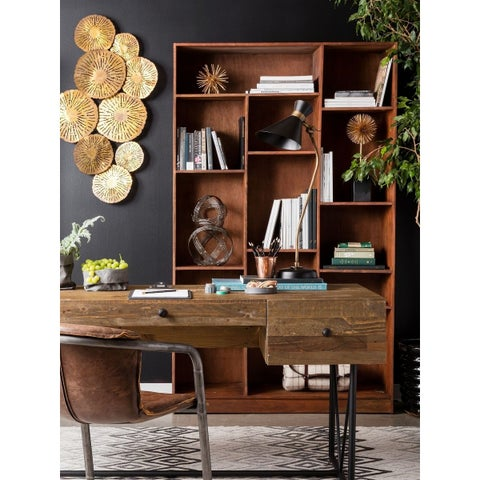 Aurelle Home Newton Storage Bookcase