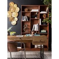 Aurelle Home Newton Storage Bookcase