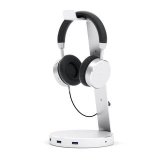 Satechi Aluminum USB Headphone Stand Holder with Three USB 3.0 Ports and 3.5mm AUX Port for All Headphone Sizes|https://ak1.ostkcdn.com/images/products/11371170/P18340978.jpg?impolicy=medium