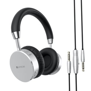 Satechi Aluminum Bluetooth Wireless Headphone with 3.5mm Audio-out Jack for iPhone 7, Galaxy S7, ect.