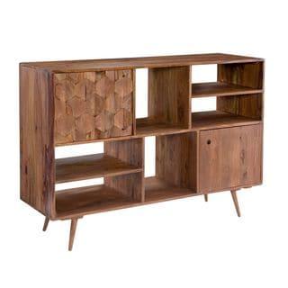 Aurelle Home Jeremy Mid-century Modern Bookshelf