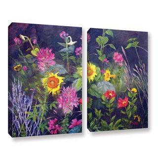 ArtWall 'Marina Petro's Out of Darkness' 2-piece Gallery Wrapped Canvas Set