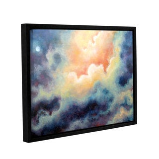 ArtWall 'Marina Petro's In the Pink' Gallery Wrapped Floater-framed Canvas