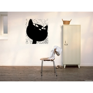 Funny Bombay Cat Breed Wall Art Sticker Decal