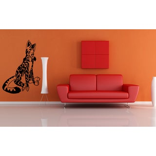 Bengal Cat Breed jumps Anime Pet Wall Art Sticker Decal
