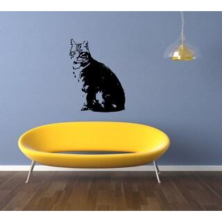 American Shorthair Breed Cat Pet Wall Art Sticker Decal