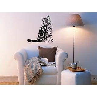 American Shorthair Breed Cat Kitten Pet Wall Art Sticker Decal