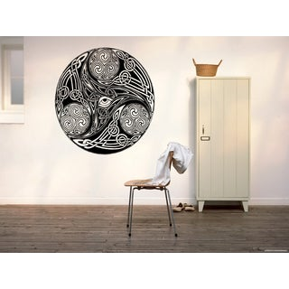Celtic knot stylized graphical Wall Art Sticker Decal