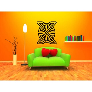 Celtic knot graphical Wall Art Sticker Decal