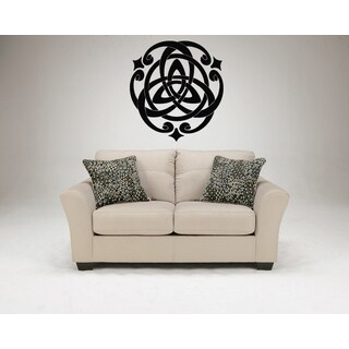 Celtic knot graphical Star Wall Art Sticker Decal