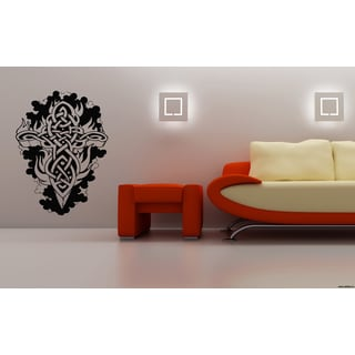 Celtic knot graphical Fire Wall Art Sticker Decal