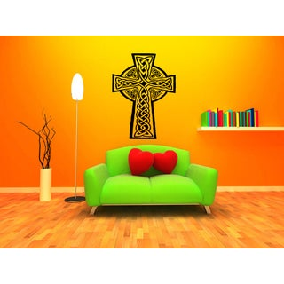 Celtic knot graphical Weaving Wall Art Sticker Decal