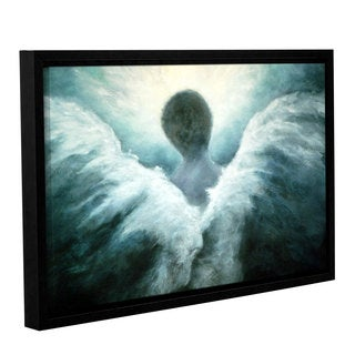 ArtWall 'Marina Petro's Ascending Angel' Gallery Wrapped Floater-framed Canvas
