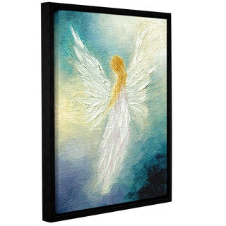 ArtWall 'Marina Petro's Angel' Gallery Wrapped Floater-framed Canvas