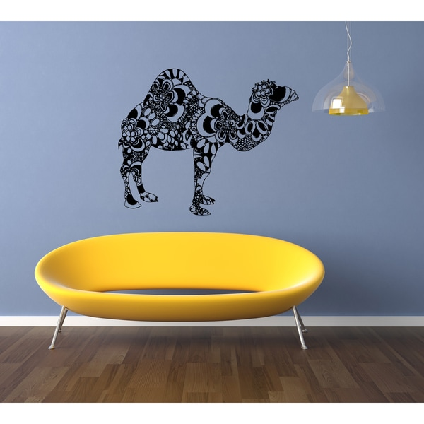 Shop Hamsa Five Hand Nature Camel Wall Art Sticker Decal - Free ...