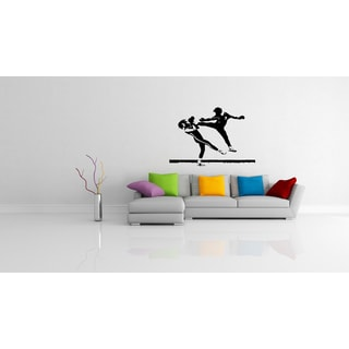 Kickboxing Combat Karate Boxing The battle Wall Art Sticker Decal