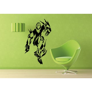 Roller Man Bounce Sports people Wall Art Sticker Decal