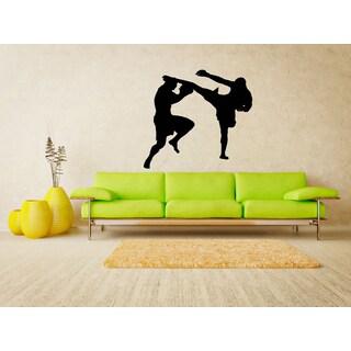 Martial arts Fight Sport Wall Art Sticker Decal