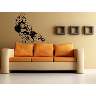 Martial arts Fight Sport Karate Wall Art Sticker Decal