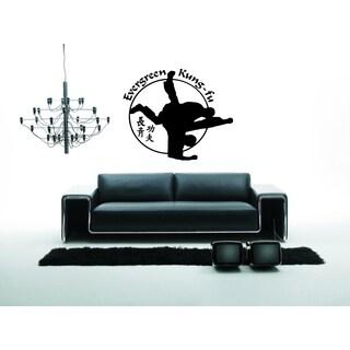 Kung Fu Karate Wall Art Sticker Decal