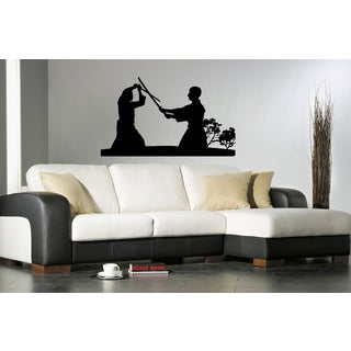 Kung Fu Karate Chinese Combat Outdoors Wall Art Sticker Decal