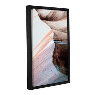 ArtWall 'Linda Parker's Desert Sands Mountain' Gallery Wrapped Floater-framed Canvas