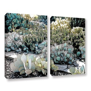 ArtWall 'Linda Parker's Botanical Garden' 2-piece Gallery Wrapped Canvas Set