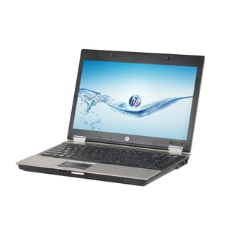 HP Elitebook 8440P 14-inch display, 2.4GHz Core i5 CPU, 4GB RAM, 250GB HDD, Windows 10 Laptop (Refurbished)