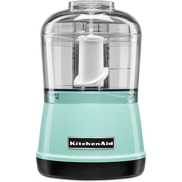 Shop Kitchenaid Kfc3511ic 3 5 Cup Food Chopper Ice Blue Free