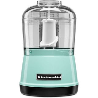 KitchenAid KFC3511IC 3.5-Cup Food Chopper, Ice Blue