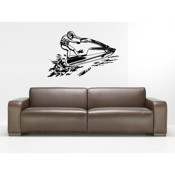 JetSki Extreme Sport Wall Art Sticker Decal