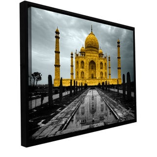 ArtWall 'Revolver Ocelot's Taj Mahal' Gallery Wrapped Floater-framed Canvas