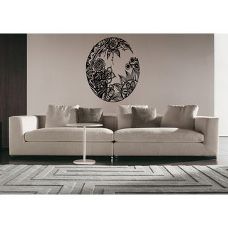 Mandala sanskrit circle spiritual Buddhism Wall Art Sticker Decal