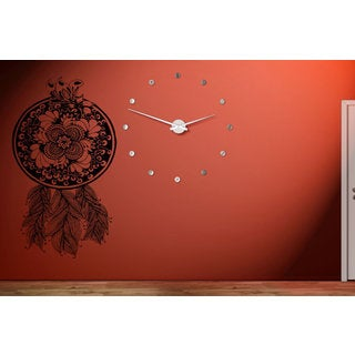 Dreamcatcher Flowers and Feathers Wall Art Sticker Decal