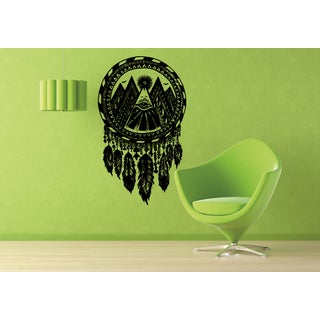 Dreamcatcher All-seeing eye Wall Art Sticker Decal