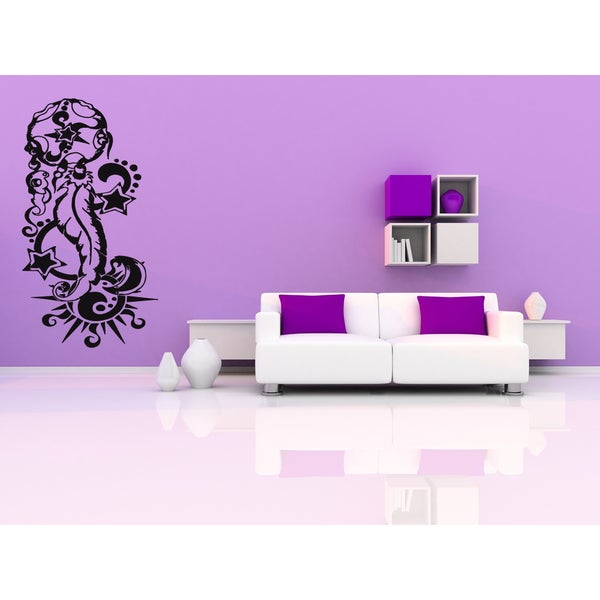 Dreamcatcher The Star and the Sun Wall Art Sticker Decal