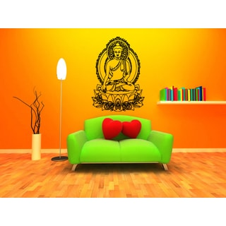 Lotus Gautama Buddha Siddhrtha Gautama Wall Art Sticker Decal