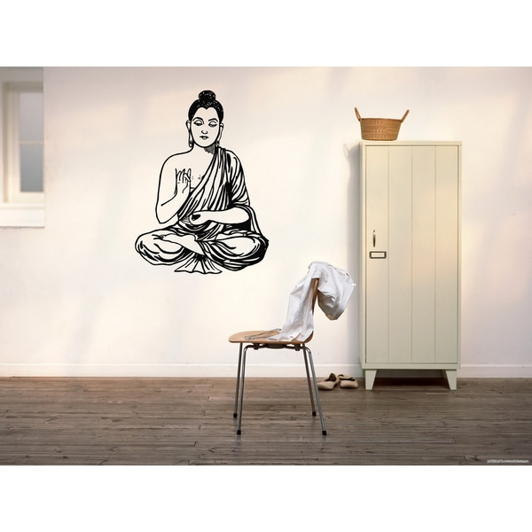 Gautama Buddha Siddhrtha Wall Art Sticker Decal