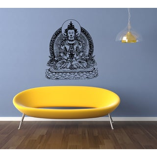 Gautama Buddha Siddhrtha India Wall Art Sticker Decal