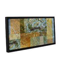 ArtWall 'Cora Niele's Splendour' Gallery Wrapped Floater-framed Canvas