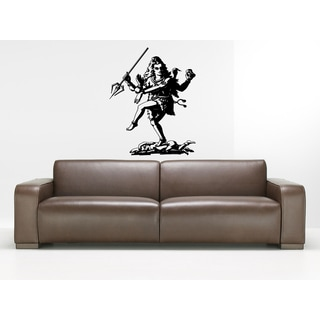 Shiva The Auspicious Mahadeva with a spear Wall Art Sticker Decal