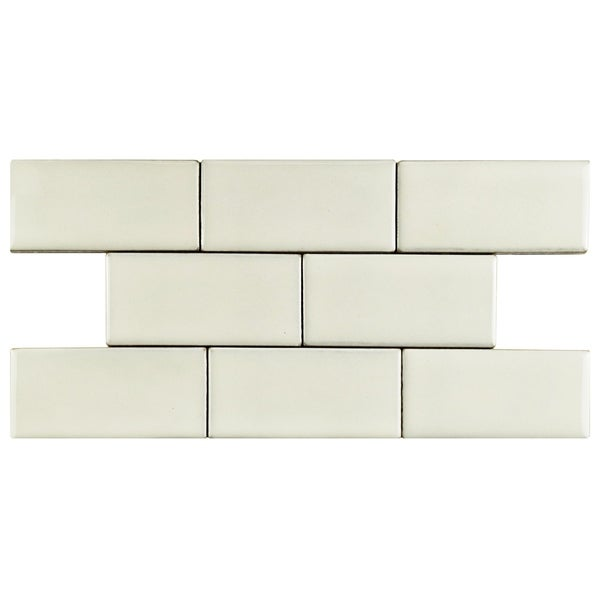 Shop SomerTile Xinch Aspect Ivory Bone Porcelain Floor And - 8 inch square ceramic tiles